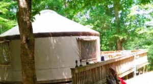 Torreya State Park In Florida Has A Glamping Yurt That's Absolutely To Die For