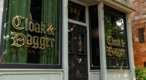 There's A Story To Be Told At Cloak & Dagger, A New Library-Themed Saloon In Cleveland