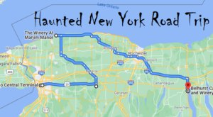 This Creepy Day Trip Through The Spookiest Places In New York Is Perfect For Fall