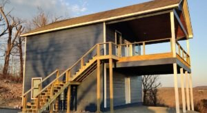 This Stunning Oklahoma AirBnB Comes With Its Own Deck For Taking In The Gorgeous Views