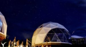 Spend The Night Stargazing In A Bubble Tent In The Texas Hill Country