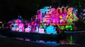 The San Antonio River Walk Will Explode With Color In A Boat Parade For Day Of The Dead