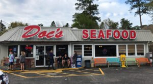 Some Of The Best Fried Shrimp In Alabama Is Found At Doc's Seafood Shack & Oyster Bar