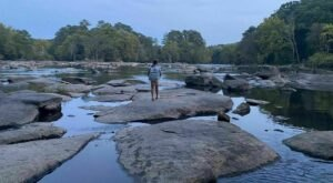 South Carolina's Most Beautiful Hike Follows Along One Of The Most Thrilling And Scenic Rivers In The State