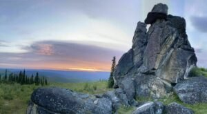 There's Nothing Quite As Magical As The Ancient Rock Formations You'll Find On The Granite Tors Trail In Alaska