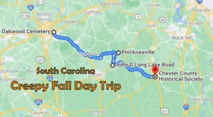 This Creepy Day Trip Through The Spookiest Places In South Carolina Is Perfect For Fall