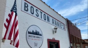 Don't Pass Up The Chance To Devour The Scrumptious New England Clam Chowder From Boston Annie's In South Carolina