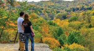 Conkle's Hollow Gorge Trail Is An Easy Ohio Hike That Transforms Into A World Of Fall Colors Each Year
