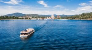 Not Many People Know That You Can Take A 6-Hour Cruise On Lake Coeur d'Alene In Idaho