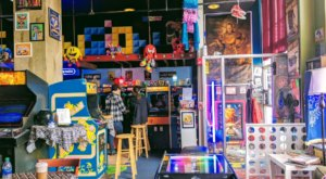 Play Nostalgic Arcade Games And Eat Your Favorite Childhood Cereals At Maniac's Mansion In Texas