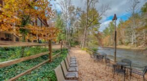 Dine While Overlooking The River At Toccoa Riverside Restaurant In Georgia