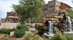 Cool Off Under A Waterfall At This Iowa Hotel