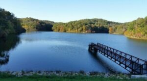 Spend A Perfect Fall Day Near The Lake When You Visit Strouds Run State Park In Ohio