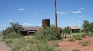 The New Mexico Ghost Town That's Perfect For An Autumn Day Trip