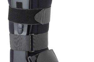Cómo usar una bota ortopédica