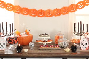 The Ultimate Halloween Candy Buffet