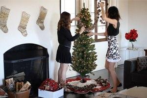 Festive Holiday Christmas Tree: 3 Ways