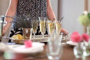 Lavender Champagne Cocktail