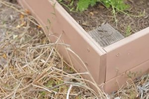 How to Build a Raised Garden Bed Using Slats