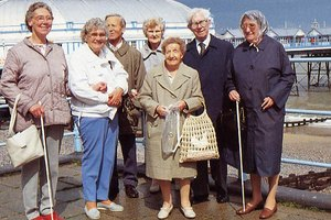 Adult day care facilities often provide group outings as one of their activities.