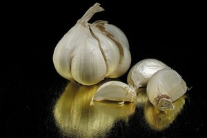 How to Take Raw Garlic for Acidity