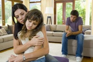 Help your daughter cope with her divorce.