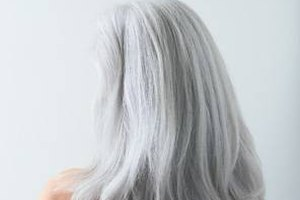 How to Turn Gray Hair Golden Blond