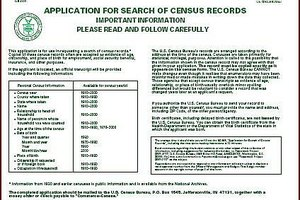 Get Someone's Recent Census Record With a BC-600