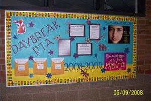 PTA Bulletin Board Ideas