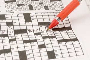 How to Make a Crossword Puzzle for School