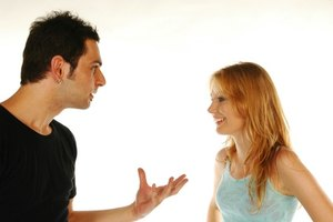 Confronting a cheating partner must be done with tact.