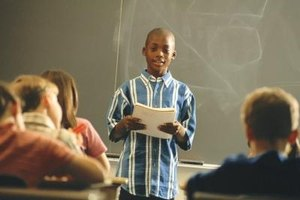 How to Teach Kids to Give an Oral Presentation