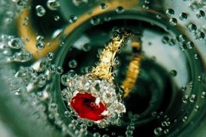 Rubies are representative of the 40th wedding anniversay.