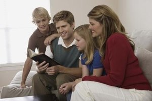 Lesson Plans to Teach Children About Family & God