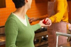 Encourage your husband to do chores.