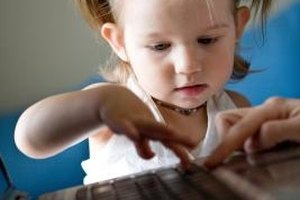 Daycare centers are using educational software to enhance early childhood education.