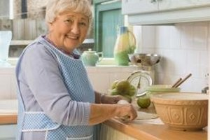 Some elderly people may be exceptional in the kitchen while others may need extra help.