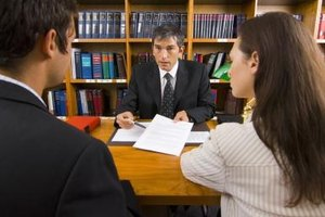 If you're divorcing a mean husband, consider getting an attorney.