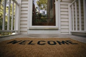 """""""Welcome home"""" can be said in a variety of ways."""