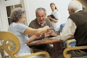 Games help senior citizens improve their memory.