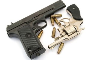 Trained gunsmiths may work independently or for large police departments.