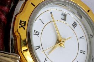 How To Set Seiko Chronograph Alarm Watches