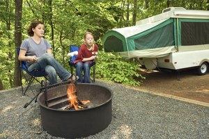Pop Up Camper Storage Ideas