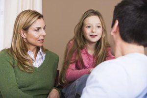 Talking as a family is a crucial part of crisis management.