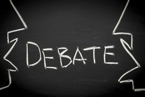 How to Hold a Classroom Debate