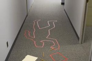How to Set up a Mock Crime Scene