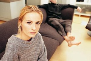 Recognize the signs of an unhappy husband.