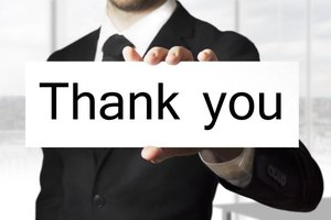 thank you for business