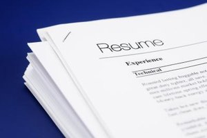 How to Write a Resume for a College Application