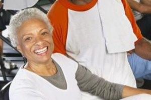 Senior singles enjoy working out together at senior-focused gyms.